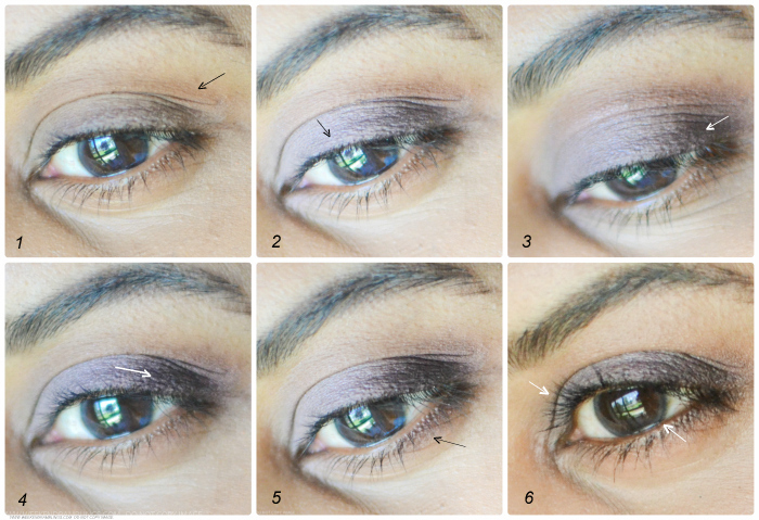 Easy Makeup Tutorial Using MAC Shale Sketch Embark Eyeshadows: Purple and Pink Day Look