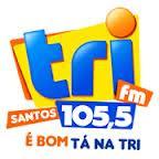 ouvir a Rádio Tri FM 105,5 Santos SP