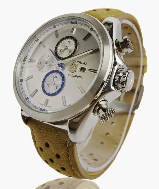 jam tangan tag heuer pria otomatis