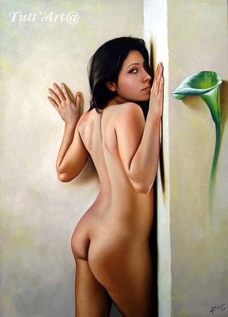 Renso Castaneda 1970 | Peruvian Figurative painter