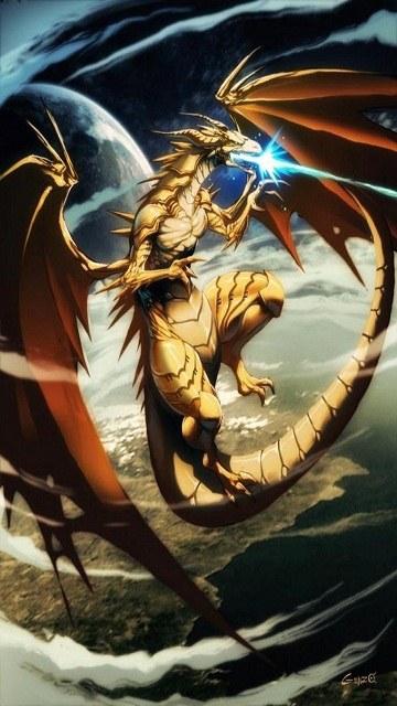 Rồng phun lửa xanh