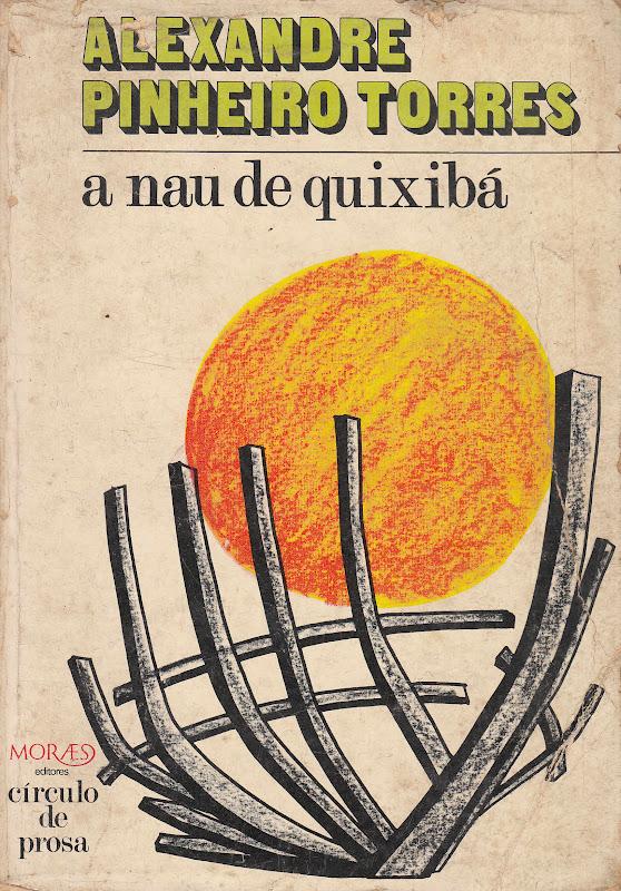 capa de A Nau de Quixibá - Alexandre Pinheiro Torres