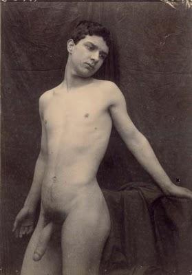 Foto desnudo risque vintage