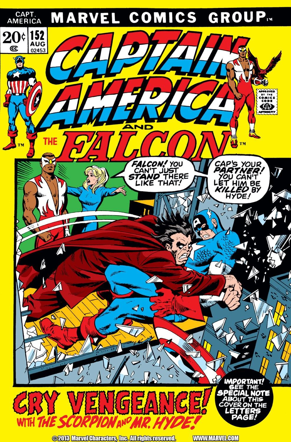 Captain America (1968) Issue #152 #66 - English 1