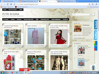 Bisnis online Indonesia beromset Rp. 150 Triliun, Putri Busana, Tips dan Info Pemasaran