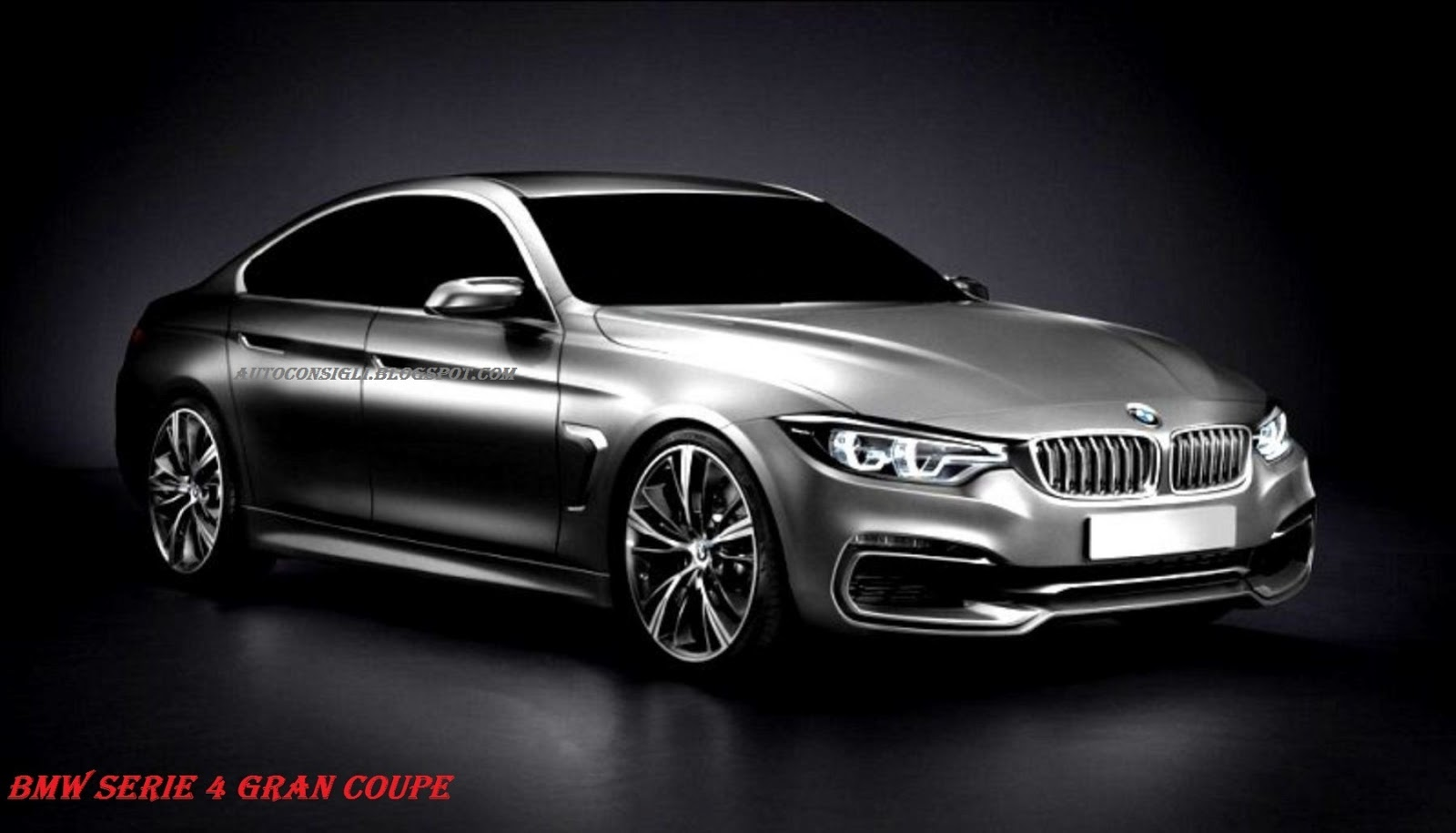 bmw 4 series gran coupe 4 series sedan rendered bmw 4. Black Bedroom Furniture Sets. Home Design Ideas