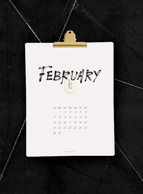http://www.cocorrina.com/2016-calendar-printable/