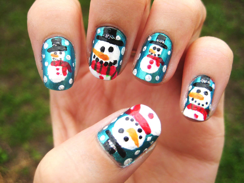 Todo sobre manos y pies - Decoracion de unas para navidad ...