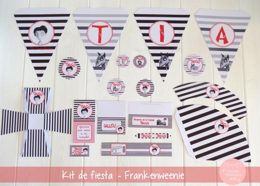 Kit de fiesta Frankenweenie