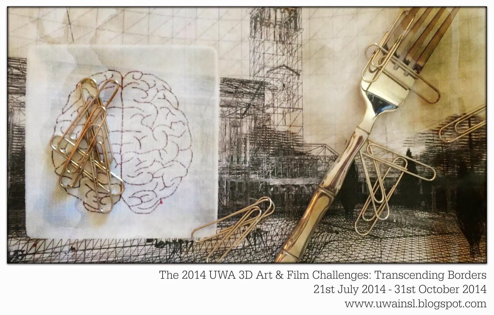 UWA 3D Art & Film Challenge