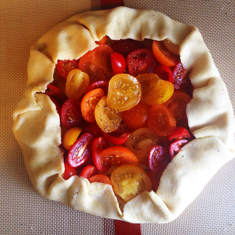 Rustic Tomato Galette | Hard Parade