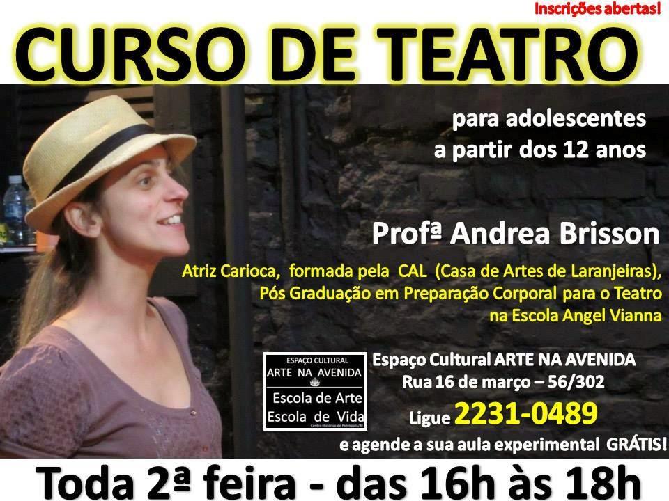 CURSO DE TEATRO ADOLESCENTE