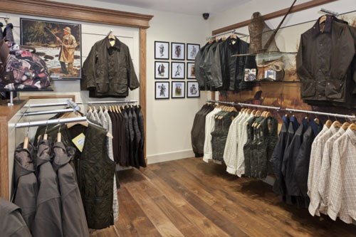 Barbour Wooden Floor