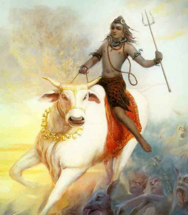 Vrishabh avatar of shiva story in hindi
