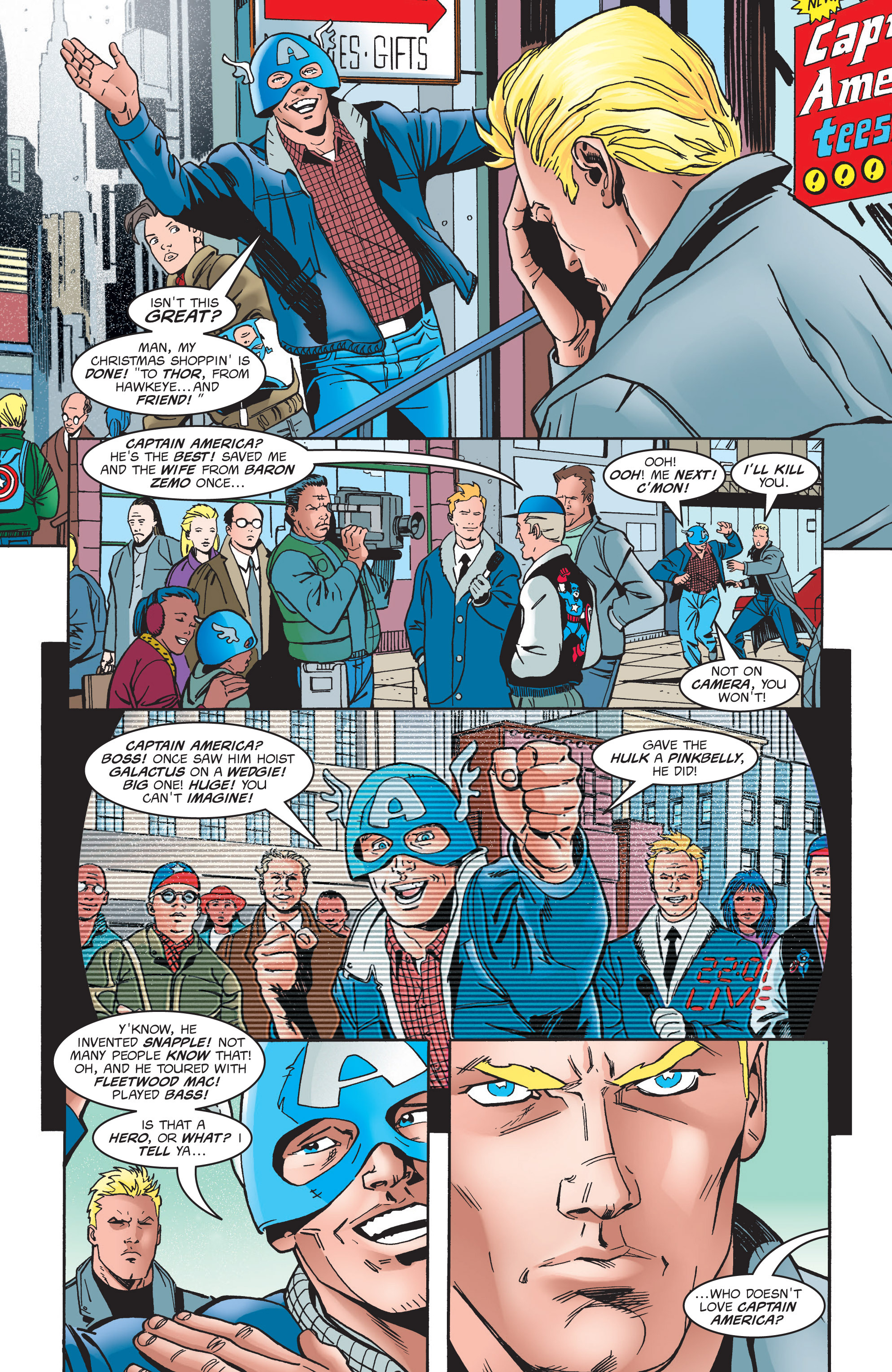 Captain America (1998) Issue #4 #7 - English 7