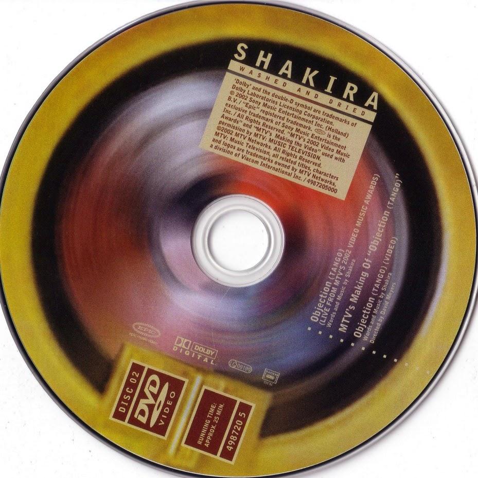 Encartes Pop: Encarte: Shakira - Laundry Service: Washed ...
