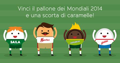 Concorso Word Candy Cup: Sperlari- Dietorelle- Saila -Galatine : in palio 35 palloni e 35 forniture