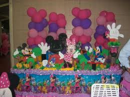 DECORACIÓN CON GLOBOS CON MINNIE by decoracionesparafiestasinfantiles ...