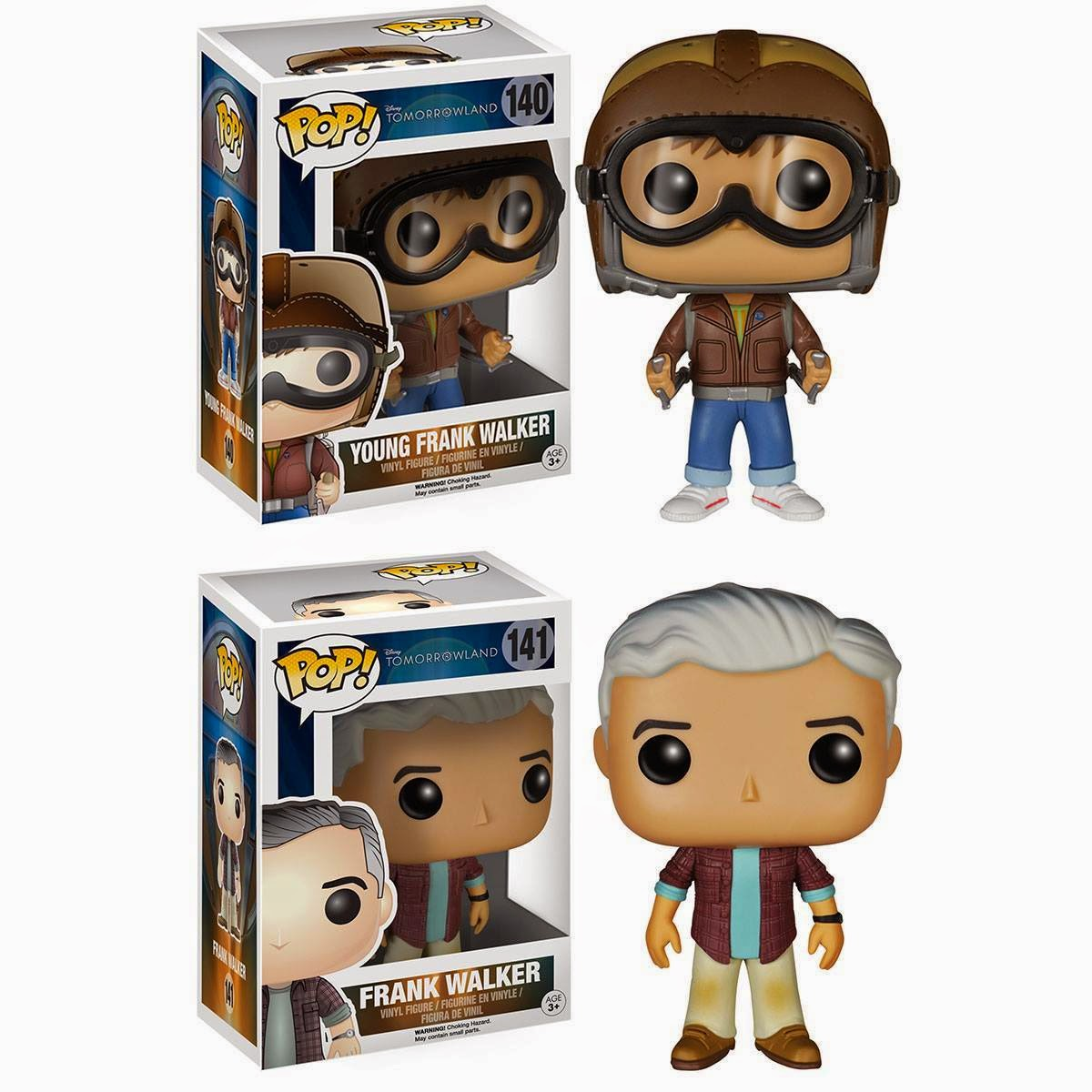 Tomorrow Land Funko Pops!