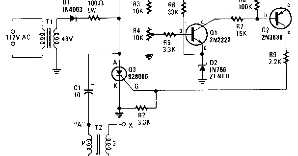schematic volt  simple capacitor discharge high voltage