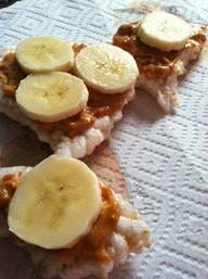 Deidra Penrose, weight loss, teambeach body, healthy snacks, easy snacks, fitness motivation, shakeology, nutrition, fitness, clean eating, fruit, fruit plate, healthy foods, healthy lifestyle, health and fitness coach, rice cakes, banana, peanut butter