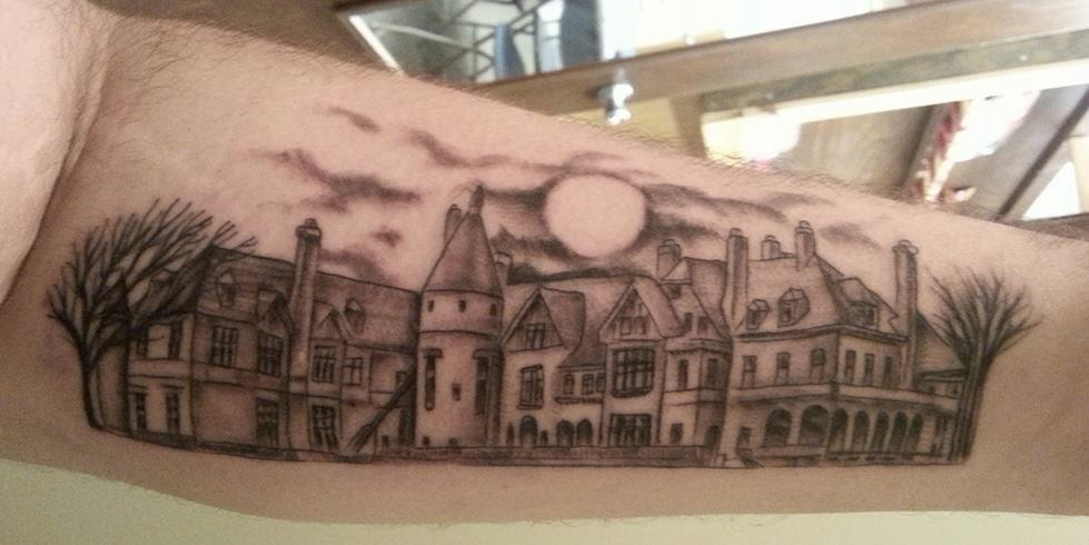 MORE SPECIFICALLY WHY SEAVIEW TERRACE I Have Been In Love With DARK SHADOWS Since Was A Child Wanting To Get Tattoo Related The Show