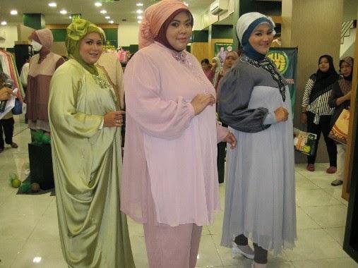 Model Baju Muslim Gamis Untuk Wanita Gemuk