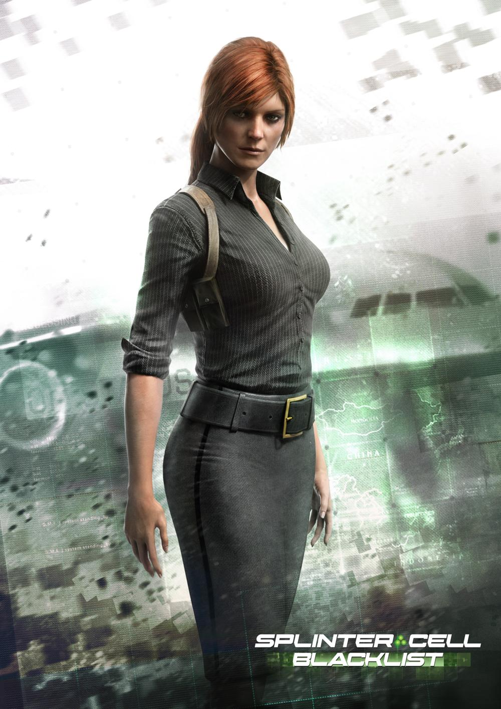 Exclusive interview kate drummond discusses splinter cell blacklist her character anna - Splinter cell grim ...