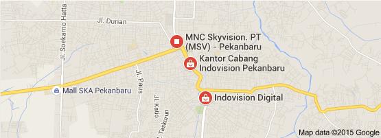 Indovision Pekanbaru Arifin Ahmad : JL ARIFIN AHMAD NO. 10, Kompl. Ruko Perkantoran Arifin Ahmad BLOK C1 – C2, SIDOMULYO TIMUR, MARPOYAN DAMAI, PEKANBARU 28125