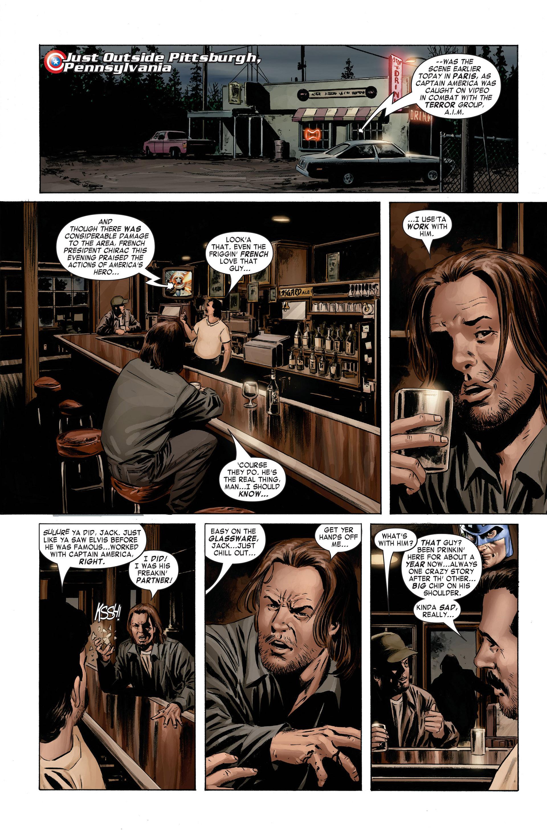 Captain America (2005) Issue #3 #3 - English 22