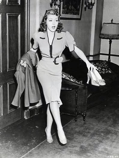 Actress And Her Shoes Vintage Everyday