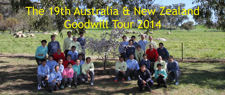 "The 19th Goodwill Tour 2014 ""Blog"""