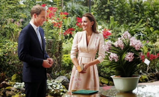 will and kate orchid