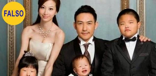 El Chino que demandó a su mujer por darle hijos feos
