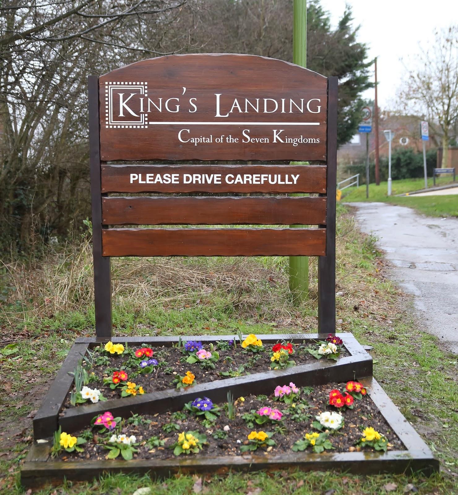 Kings Langley renombrado como King's Landing - Juego de Tronos en los siete reinos