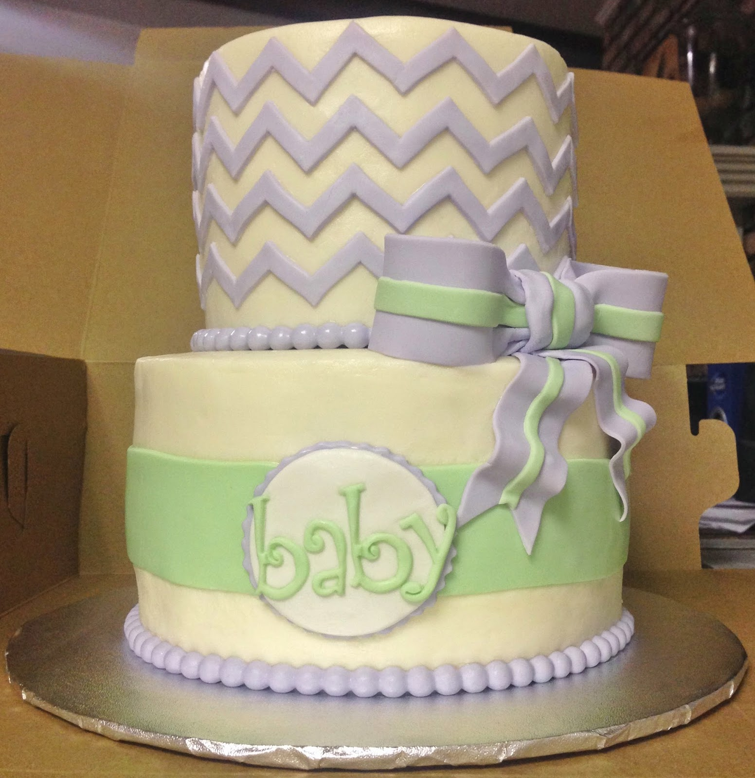 cakes by mindy lavender and mint green baby shower cake 6 8