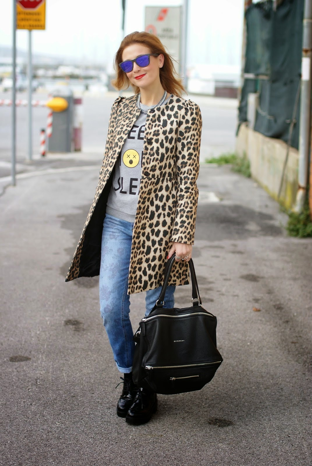 cappotto zara leopardato, fashion blogger Fashion and Cookies, fashion blog