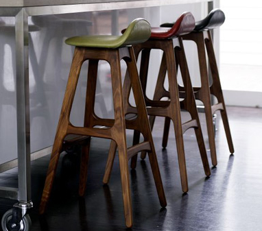French Kitchen Design on These Timber Stools Are By Danish Designer Erik Buch And Manufactured