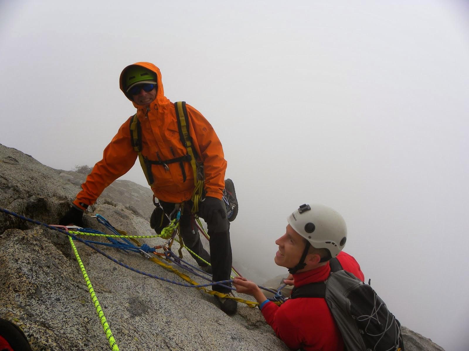 Early Season Ascent of Moro