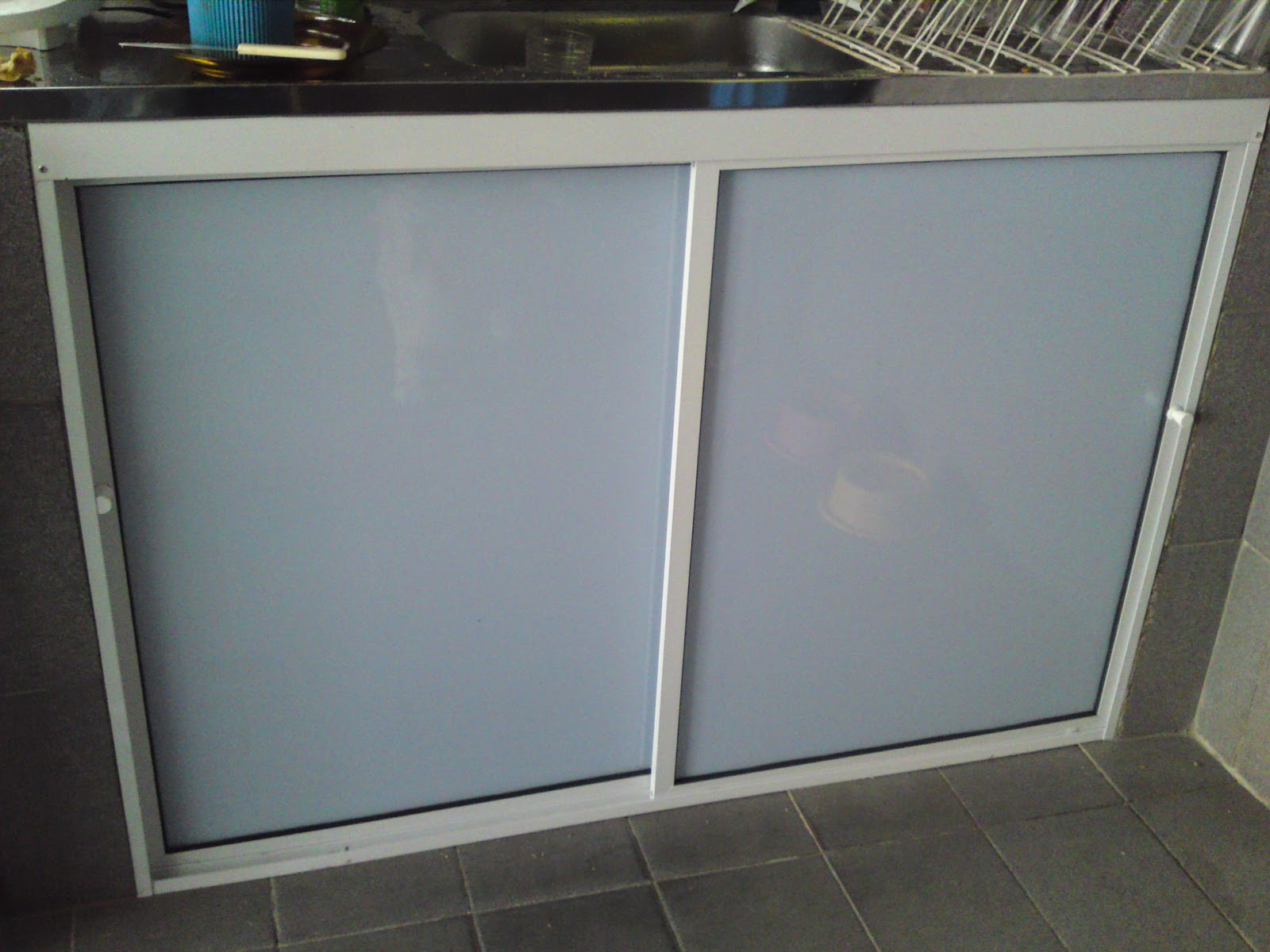 RS Renato Serralheria: Box e armarios de pia em aluminio e box blindex #466065 1600 1200