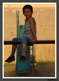 Parktaki çocuk