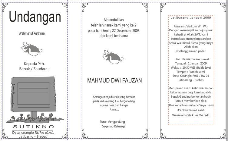 Download File Template Undangan Slametan Walimatul Astma (Nama Anak ...