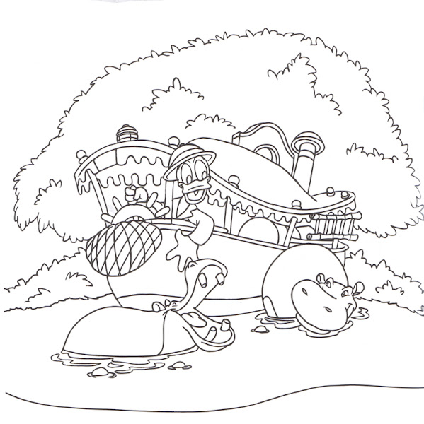 Disney World Hollywood Studios Coloring Pages