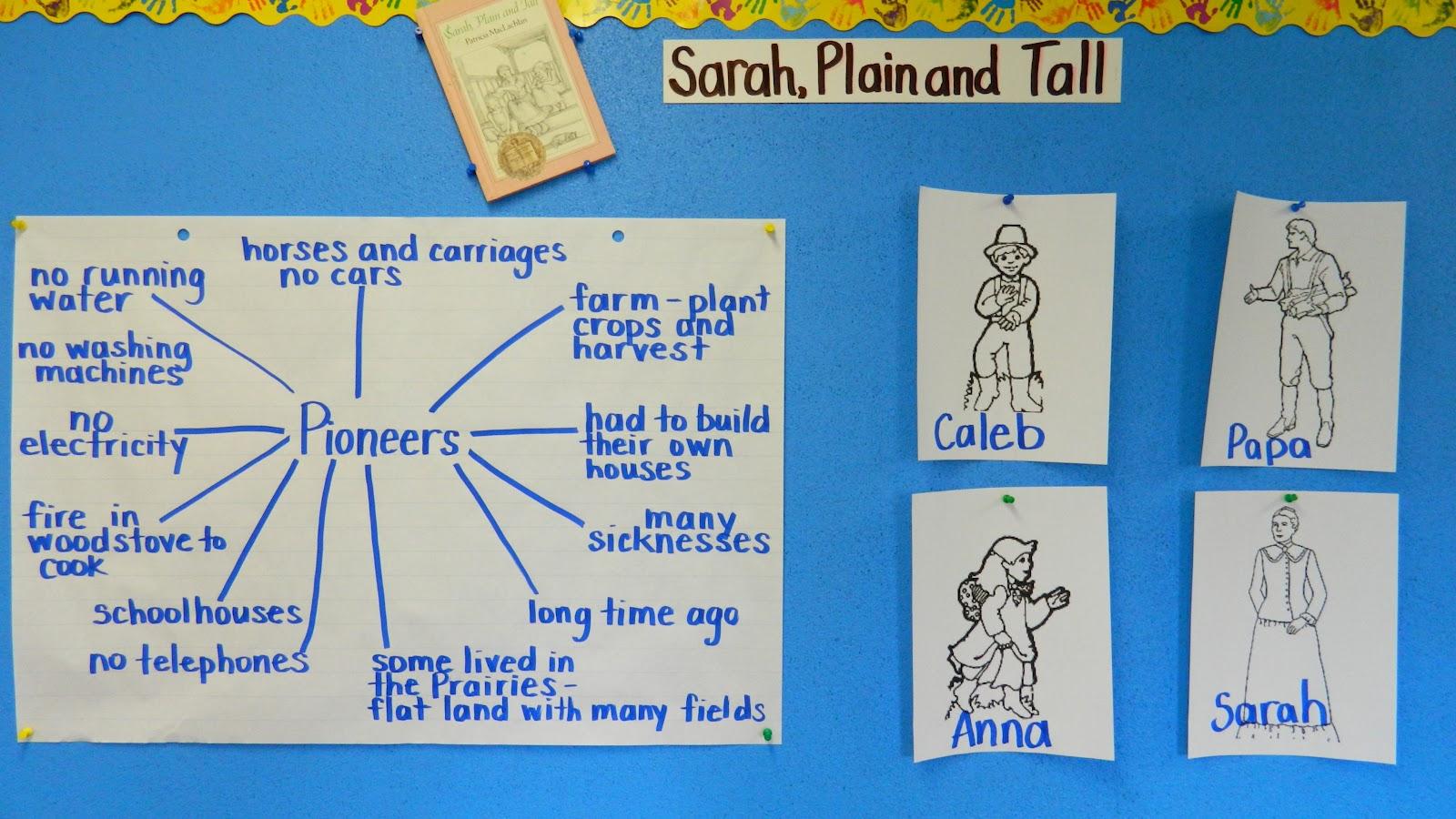 Mrs. Bacchus' Class: Sarah, Plain and Tall