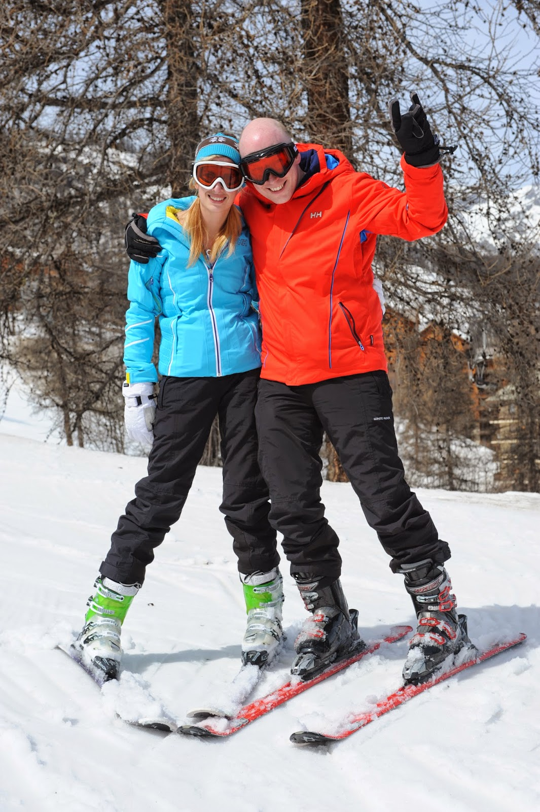 What and how to wear a ski jacket