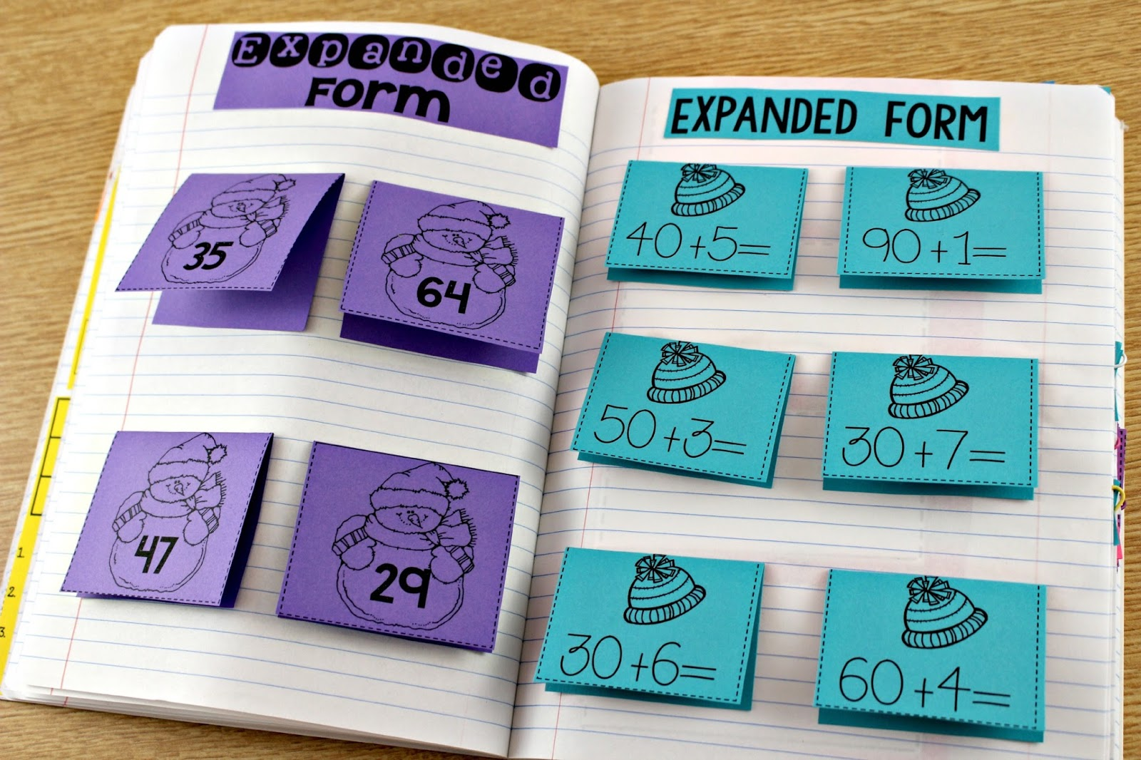 Math Journals For First Grade - Tunstall\'s Teaching Tidbits