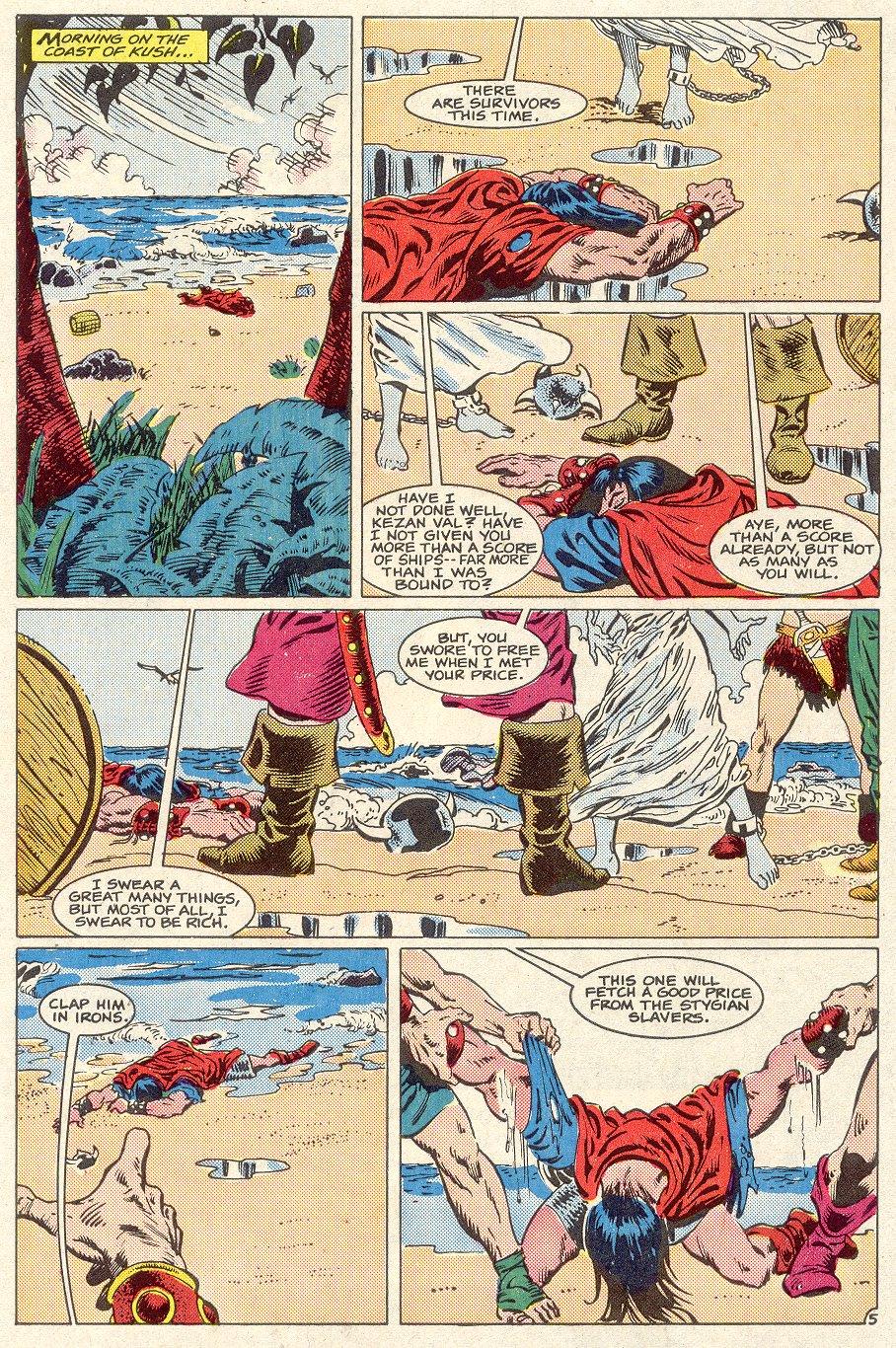 Conan the Barbarian (1970) Issue #186 #198 - English 6