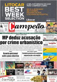 Primeira página | Edição semanal