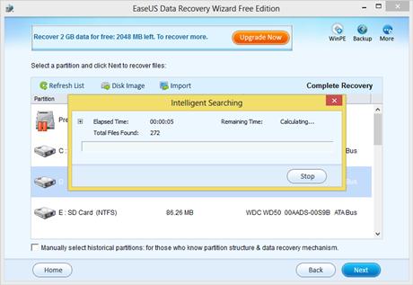 EaseUS Data Recovery Wizard - Mengembalikan Data Hilang