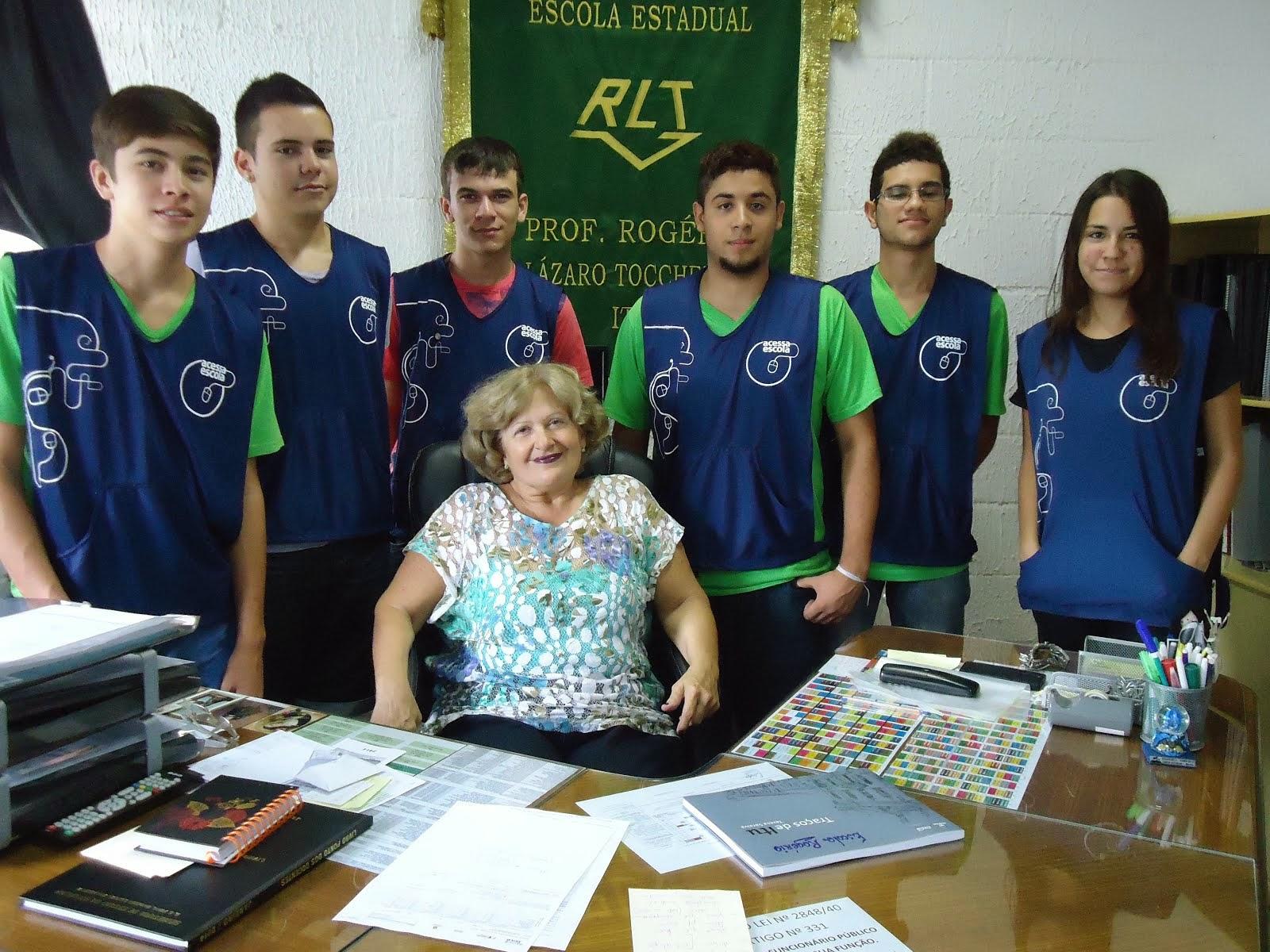 Estagiários do Acessa Escola 2014